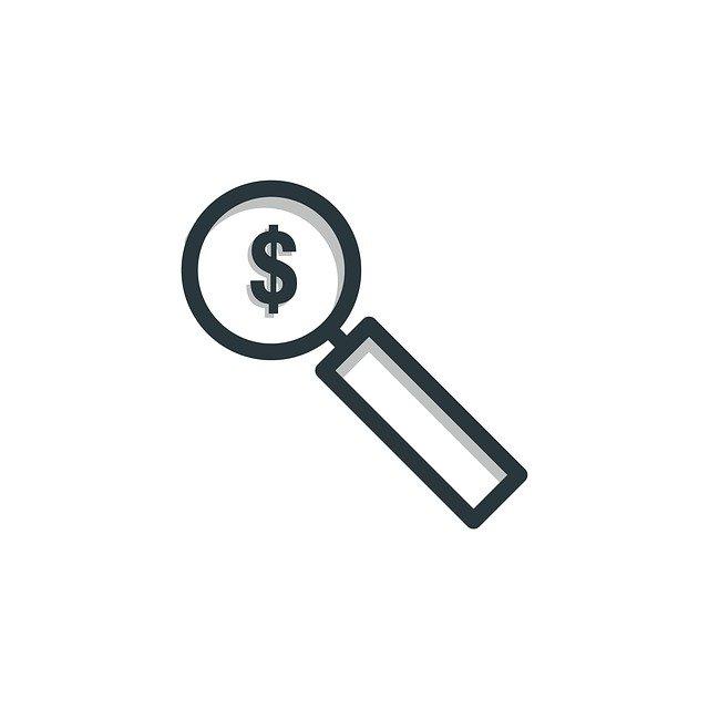 dolar pod lupou